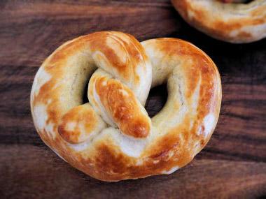 buttery-soft pretzels