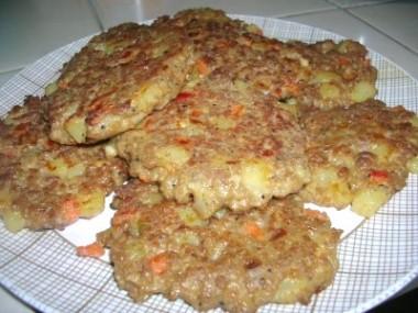 oatmeal crusted meats