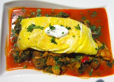 bombay vegetable omelette recipe